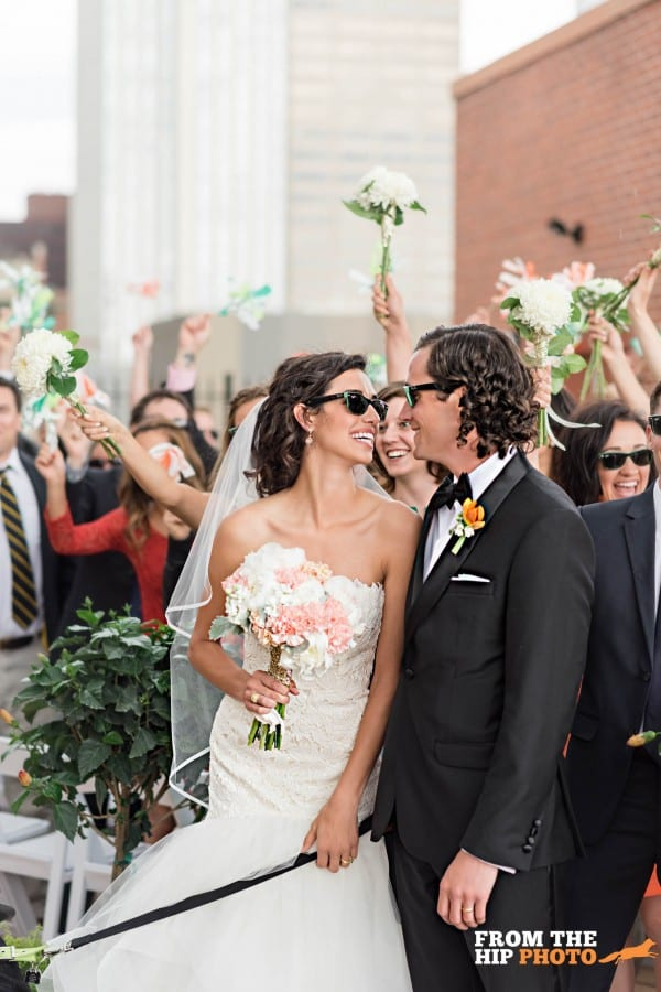 L'Meese and Mark | Denver Athletic Club Wedding Photography | From the Hip Photo
