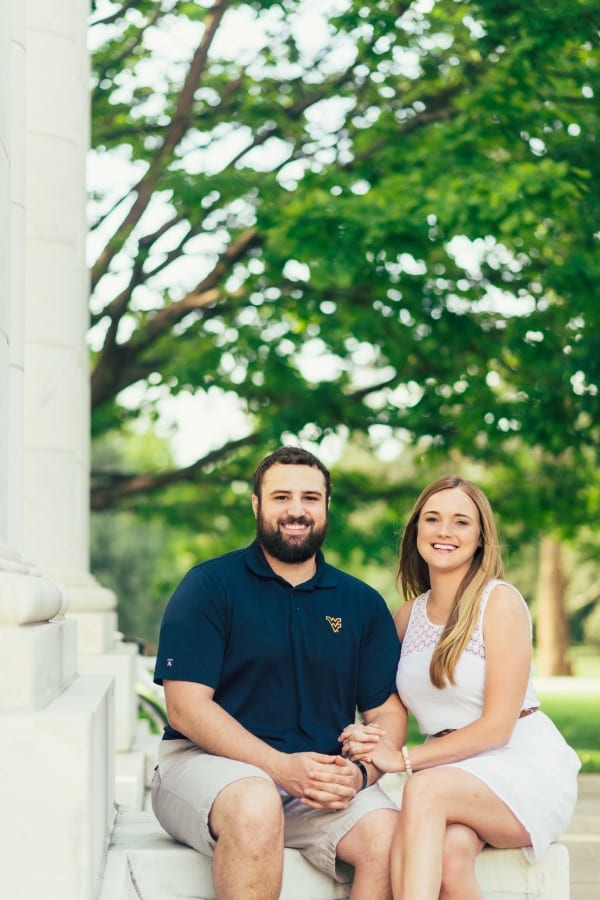 Kristin & Ryan | Cheesman Park Engagement Photography | From the Hip Photo