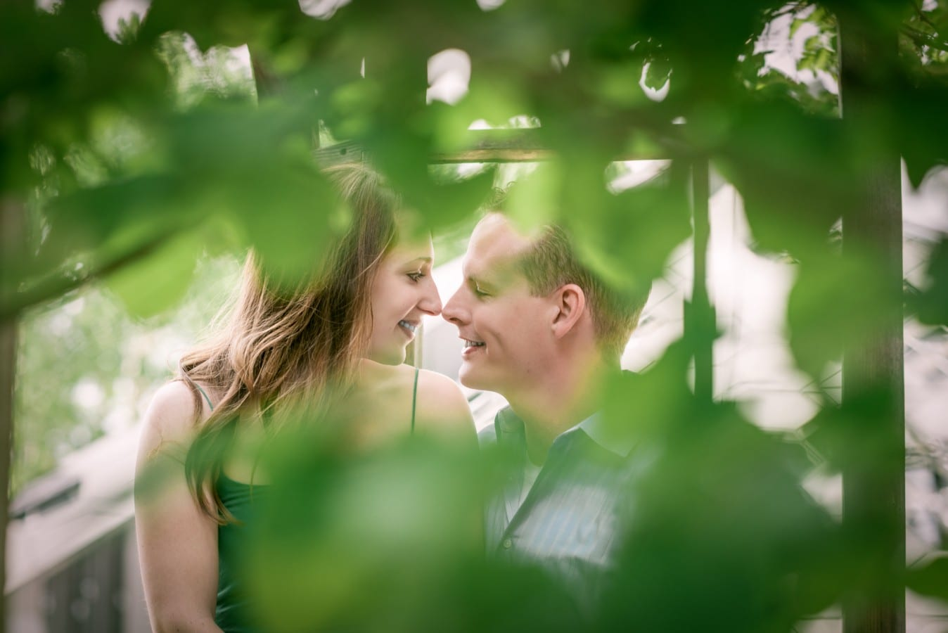 Ann and Sean | Denver Botanic Gardens Engagement Photography | From the Hip Photo
