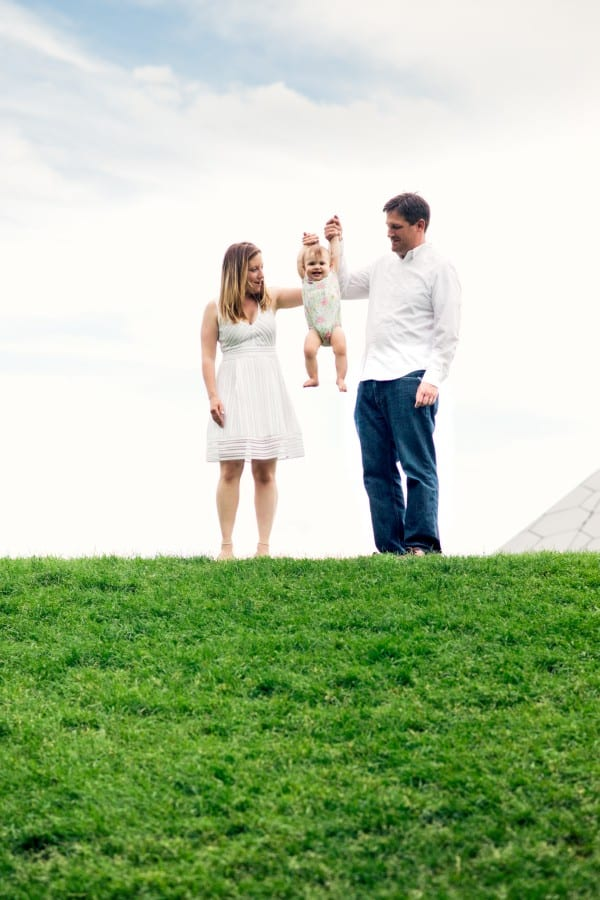 Casey, Rob and Emilia | Denver Botanic Gardens Family Photography | From the Hip Photo