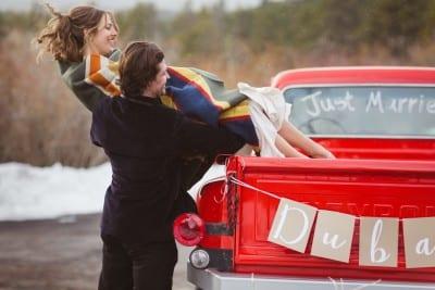Julia & Jim | Estes Park Wedding at Mary's Lake Lodge | From the Hip Photo