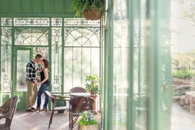 Andrea & Cole | Cheesman Park and Denver Botanic Gardens Engagement Photography | From the Hip Photo