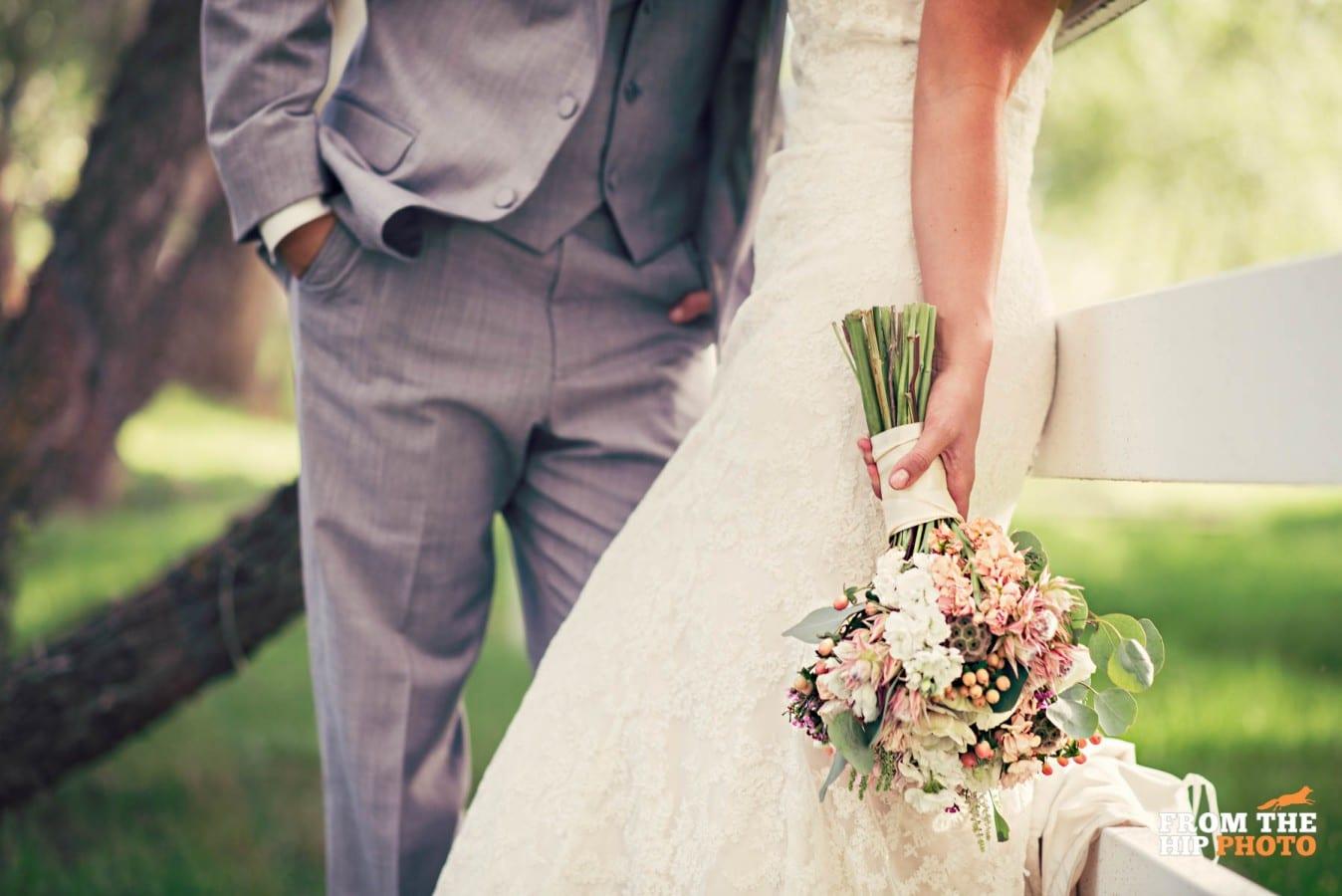 Jenny & David | Crooked Willow Farms wedding photography | Larkspur, Colorado