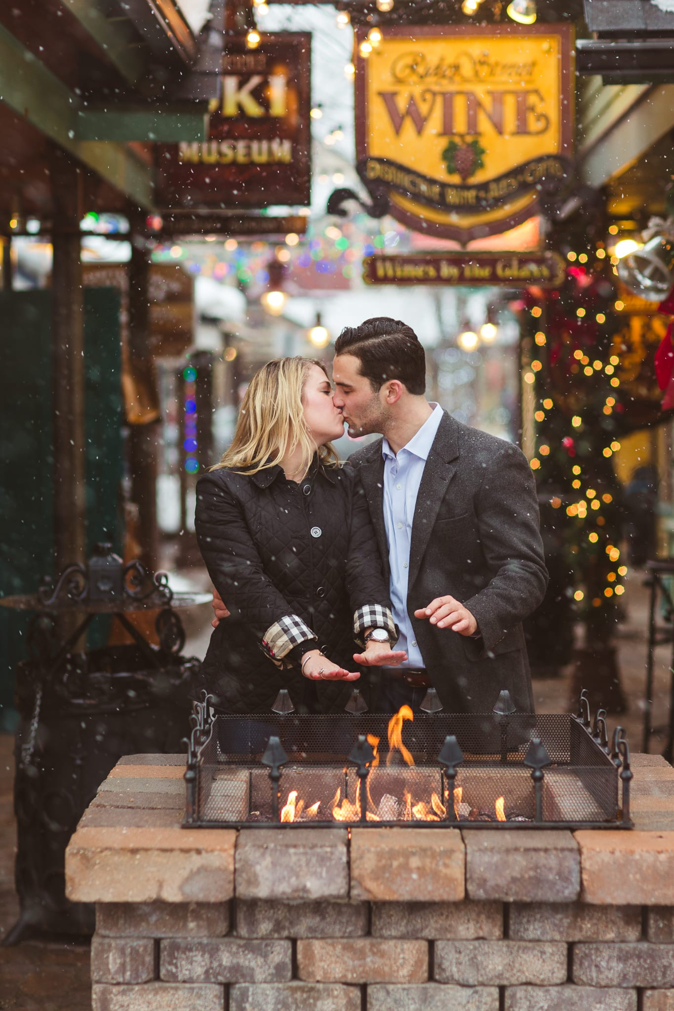Morgan & Alex | Breckenridge Engagement Photography | From The Hip Photo