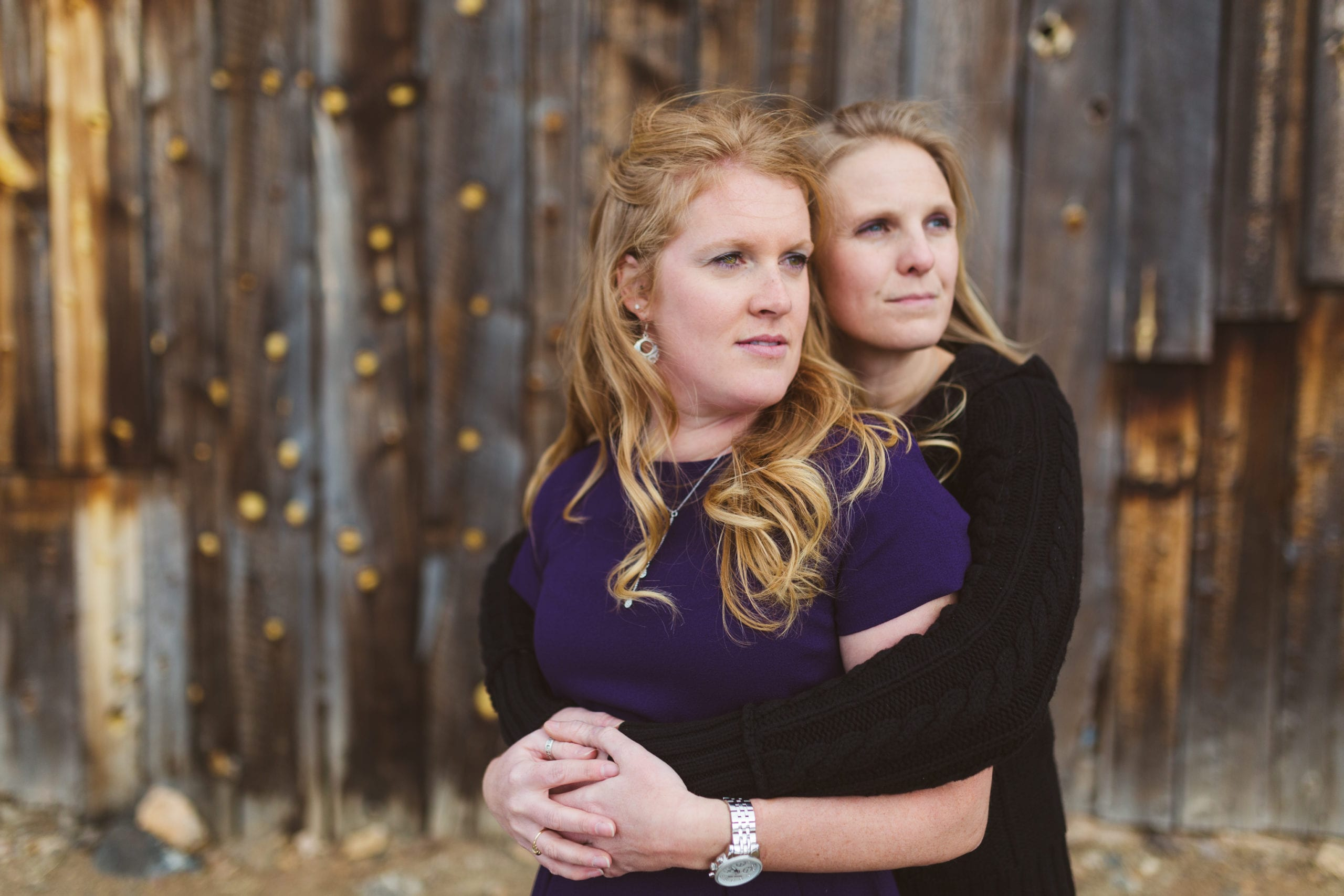 Courtney & Lindsay | Three Sisters Park Engagement Photography | From The Hip Photo
