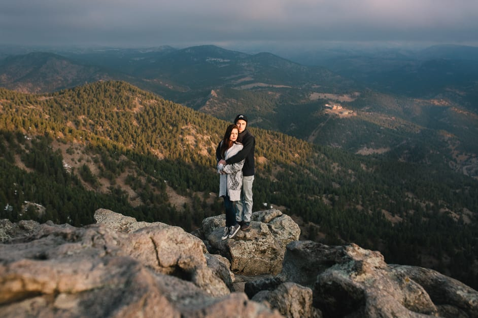 Jordan & Nathan | Lost Gluch Overlook Engagement Photography | From the Hip Photo
