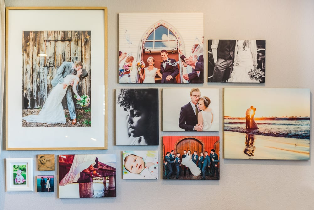 Easy Ways to Display Family Photos | The Complete Display Guide | Denver Family Photography | From the Hip Photo