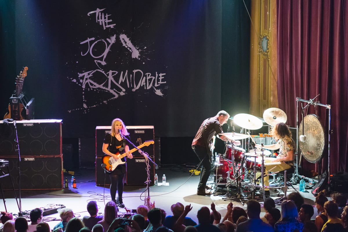 The Joy Formidable | Live at The Bluebird Theater | Denver Colorado | From the Hip Photo
