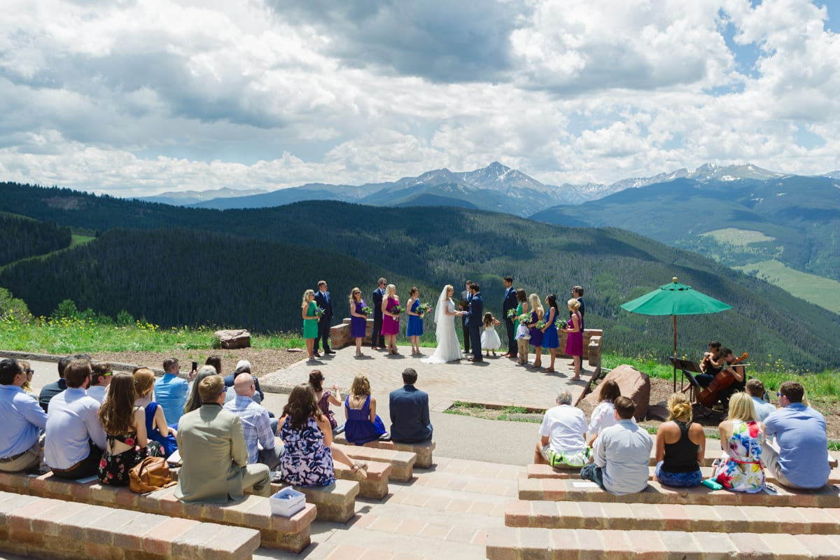 Matt U0026 Lindsay | Outdoor Vail Wedding Photography | The Lodge At Vail |  From The