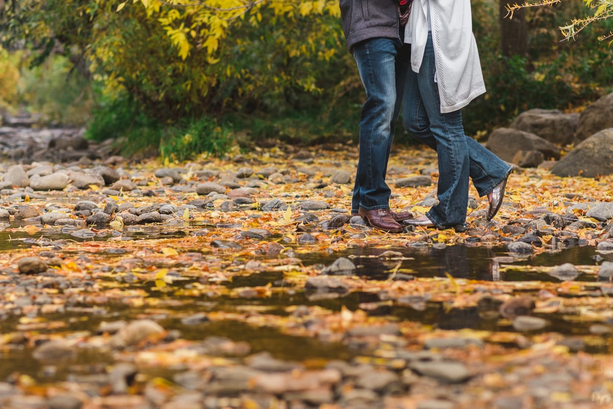 Clear Creek Engagement Photos   Engagement Photography   Clear Creek, Golden, CO   From the Hip Photo