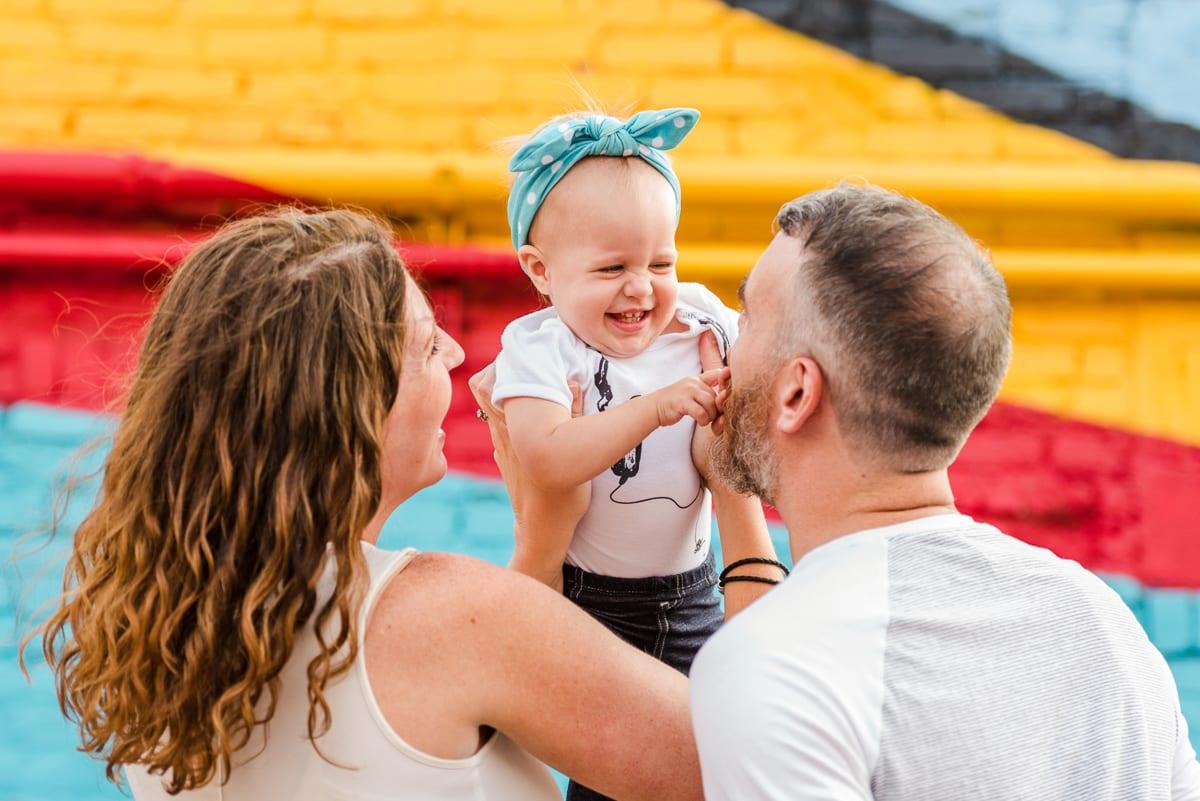 RiNo Family Photos   Family Photography   RiNo Art District   From The Hip Photo