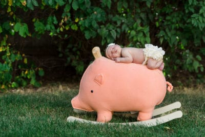 Outdoor Newborn Family Photos | Newborn Photography | From the Hip Photo