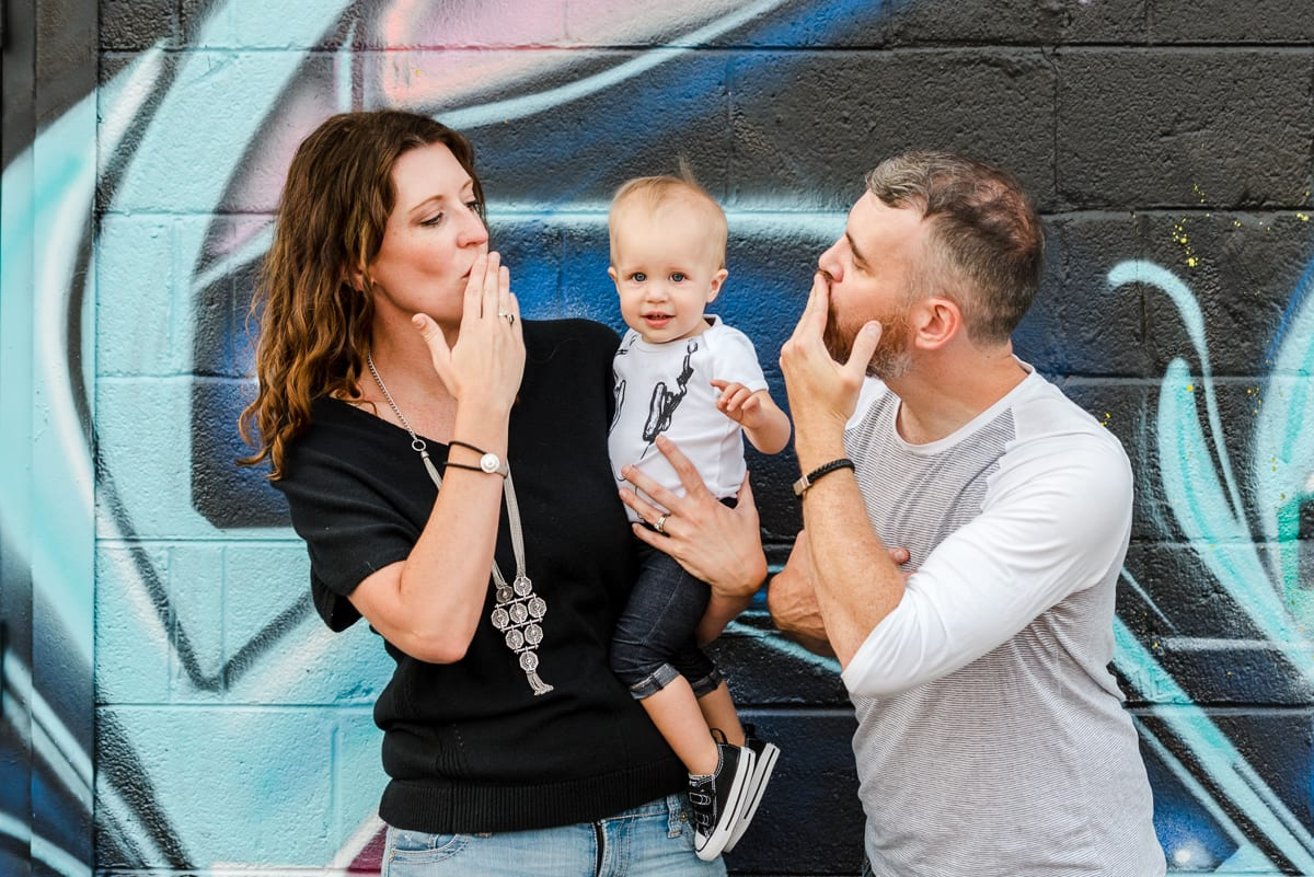 RiNo Family Photos | Family Photography | RiNo Art District | From The Hip Photo