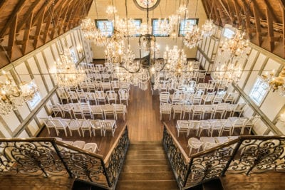 Chandelier Barn at Lionsgate Event Center | Lafayette, Colorado | From The Hip Photo