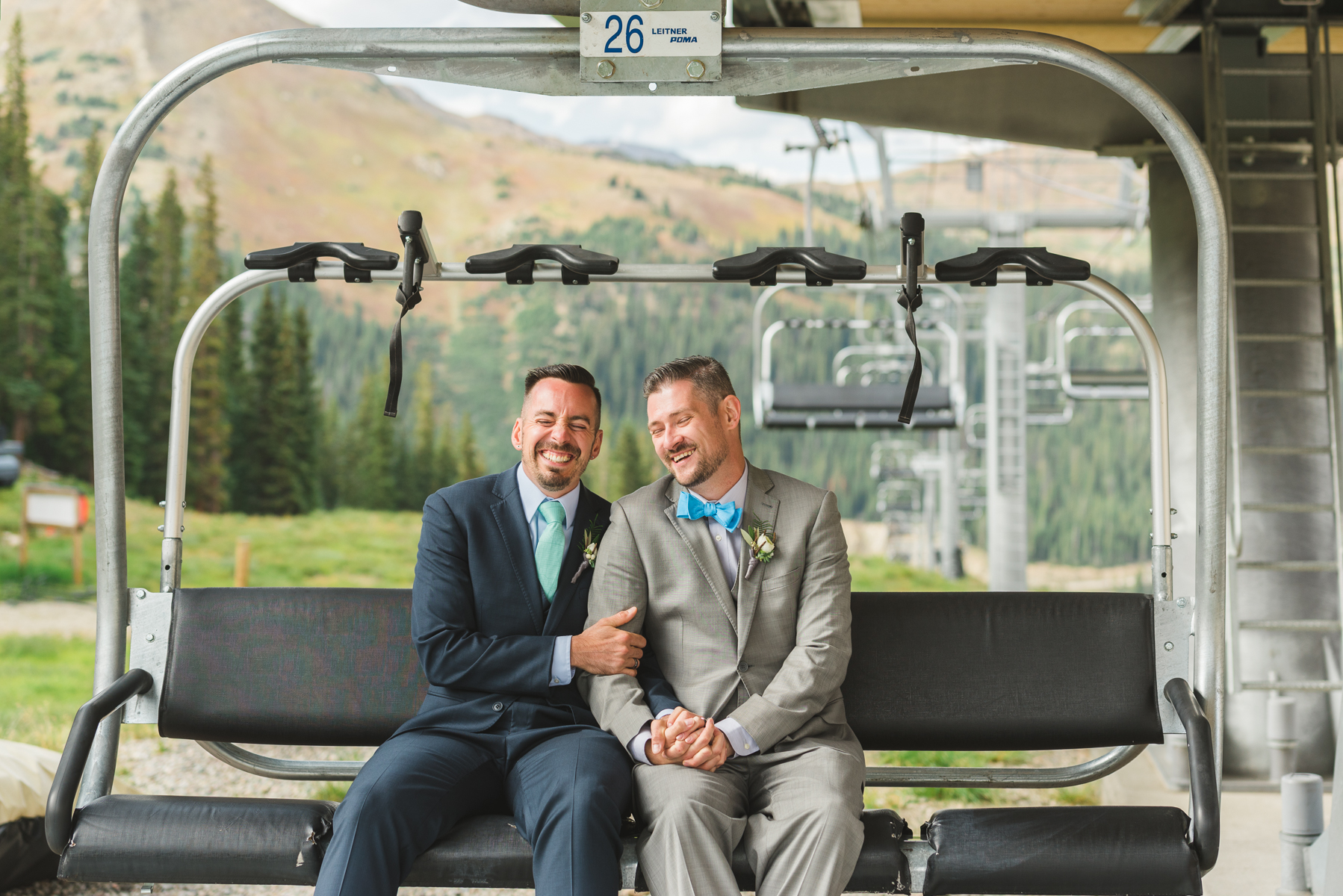 Black Mountain Lodge Wedding | Wedding Photography | Arapahoe Basin | From The Hip Photo
