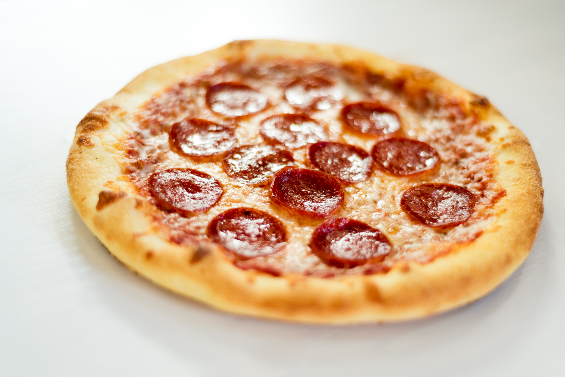 Pepperoni Pizza from Mici Handcrafted Italian in Denver, CO.