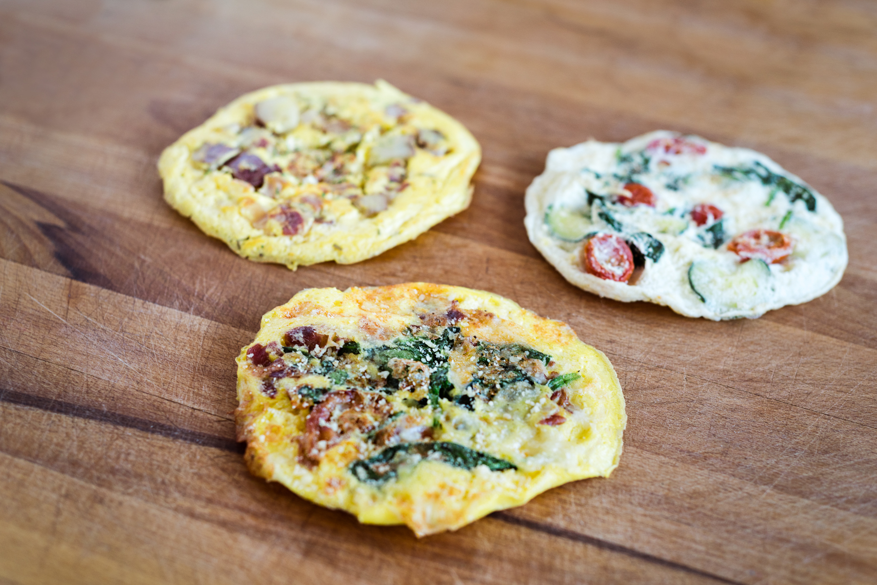 Omelettes from Mici Handcrafted Italian in Denver, CO.