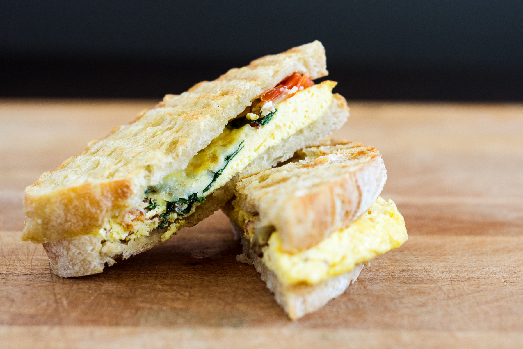 A panini from Mici Handcrafted Italian in Denver, CO.