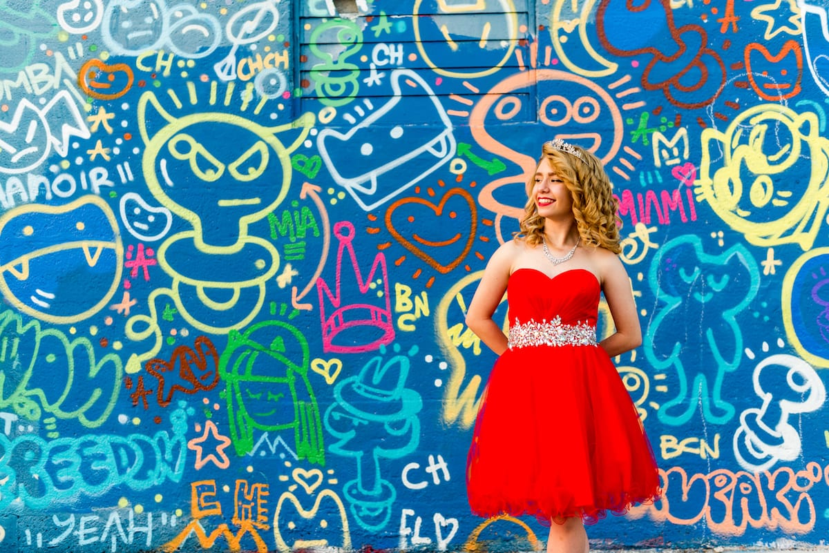 Bright Red Quinceanera Dress | Event Photography | Wyndwood | From The Hip Photo