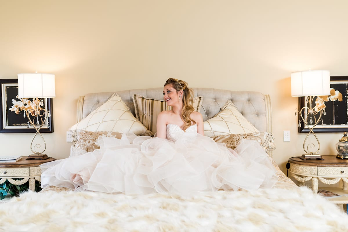 Relaxed Bride | Wedding Photography | Flying Horse Ranch | From The Hip Photo