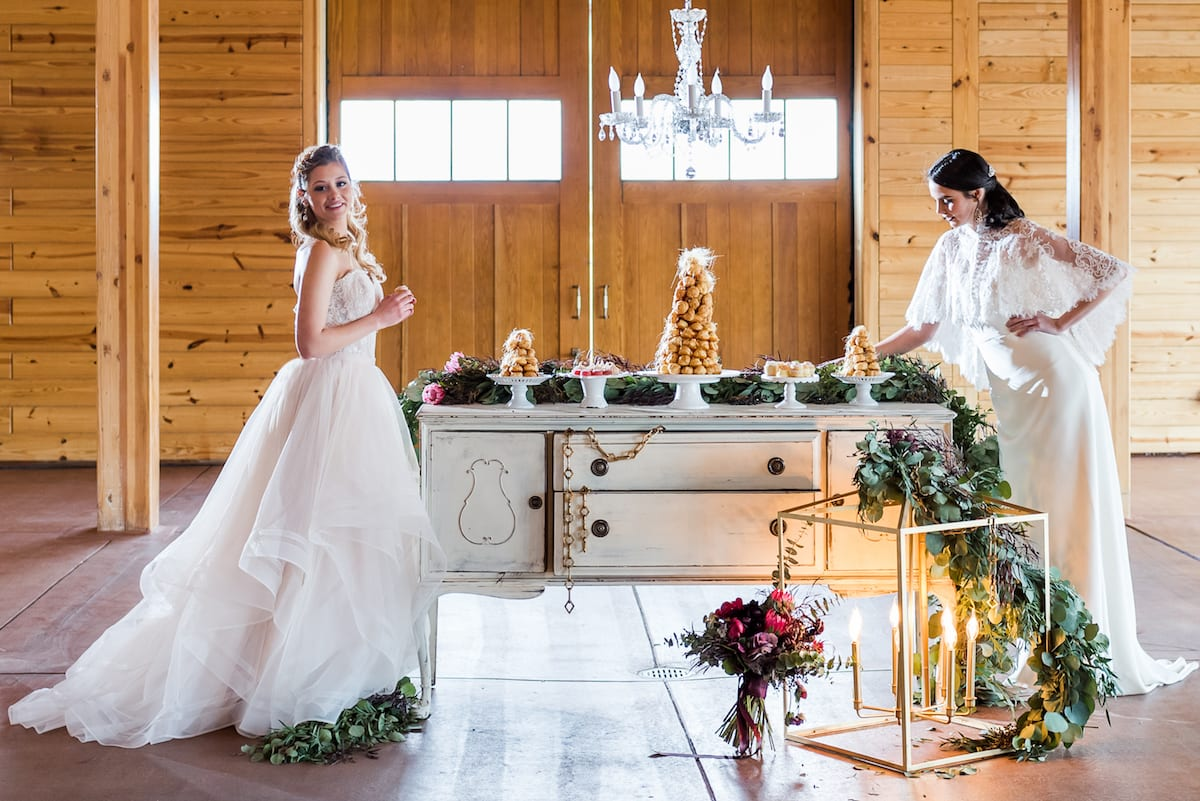 Two Brides | Wedding Photography | Flying Horse Ranch | From The Hip Photo