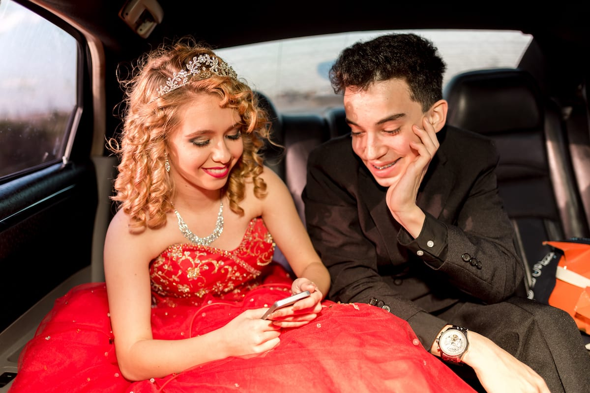 Quinceanera Limo Ride | Event Photography | Wyndwood | From The Hip Photo
