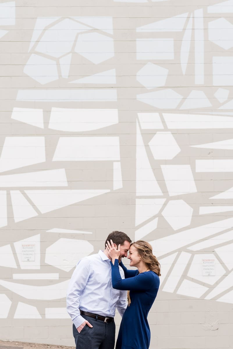 Denver Ri-No Engagement portrait