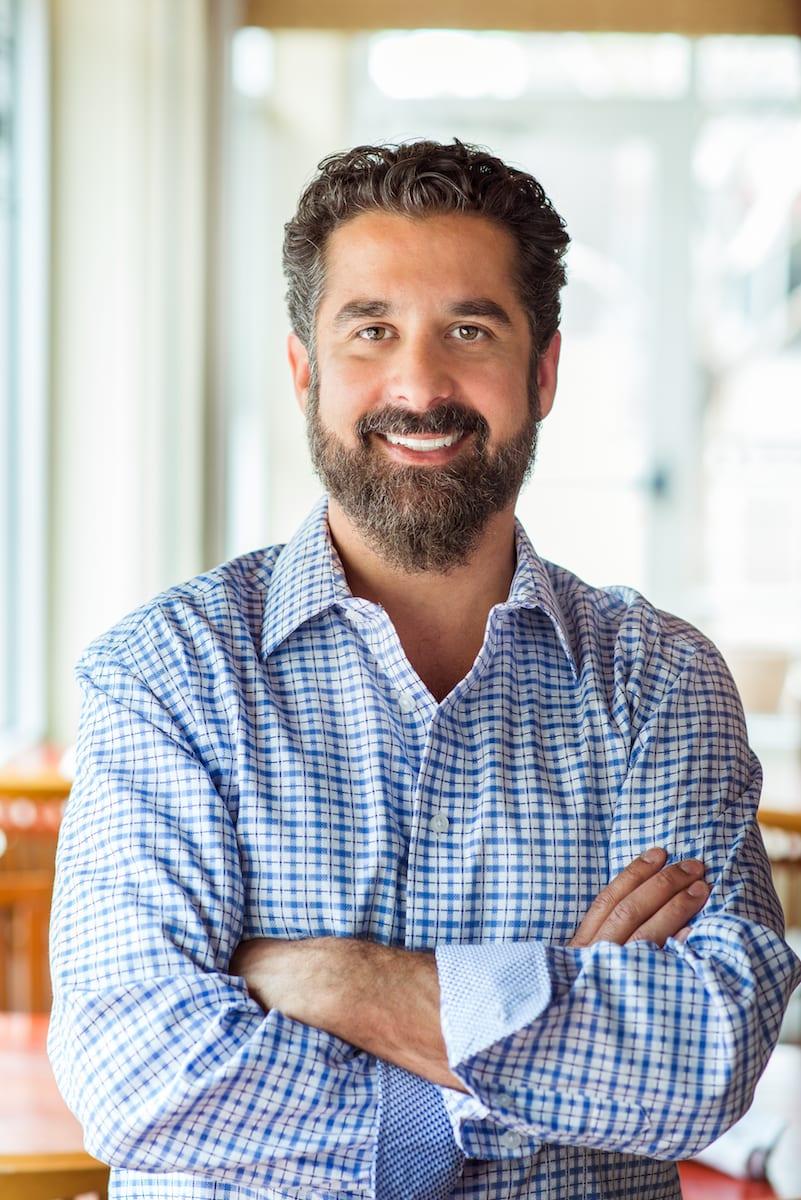 The Berkshire restaurant owner Andy Ganick