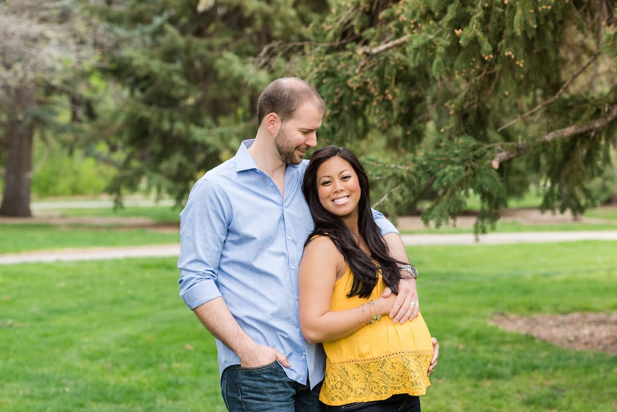 maternity | maternity portraits | Cheeseman Park | From the Hip Photo