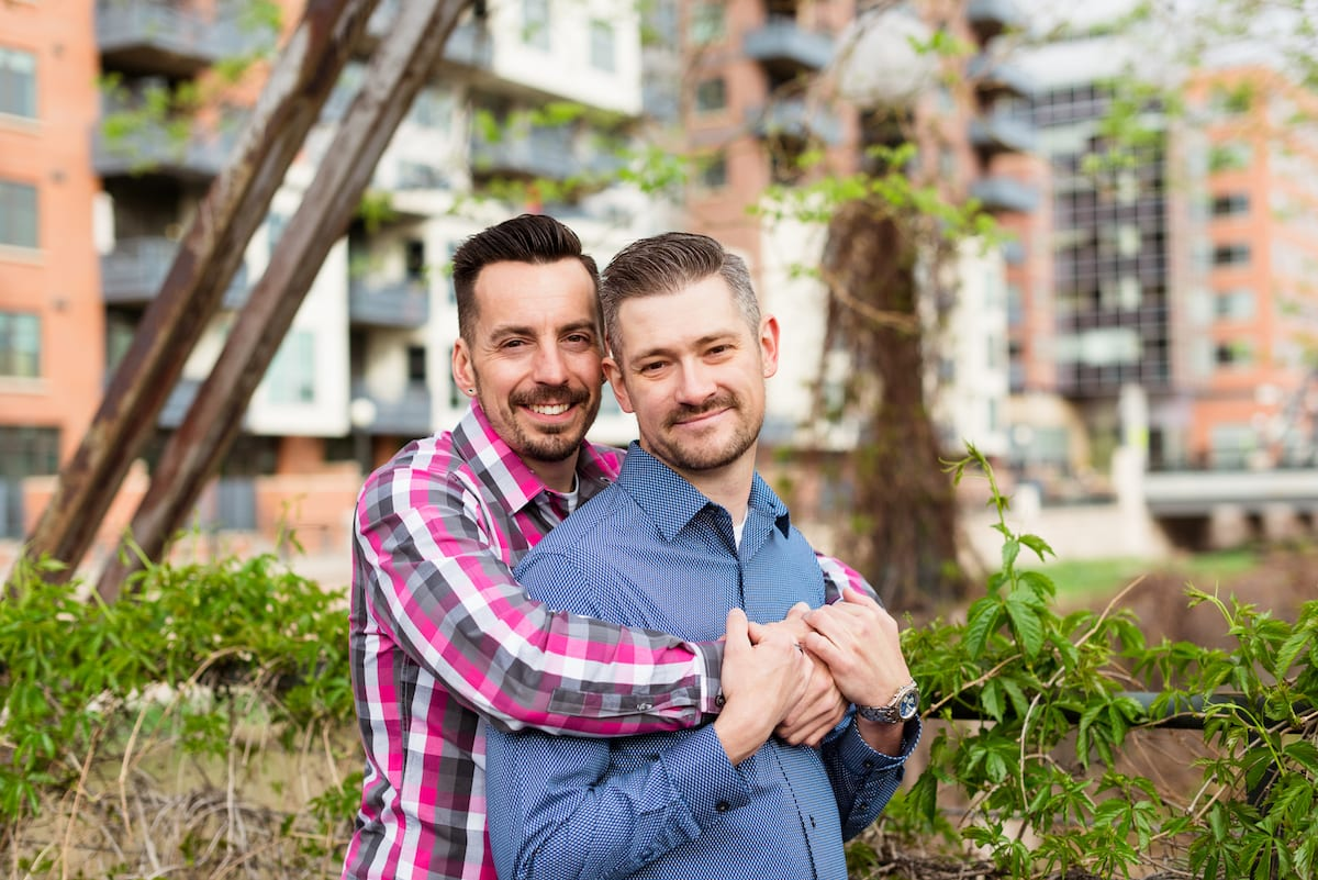 A Lovely LoDo Engagement | Michael & Aaron | From the Hip Photo