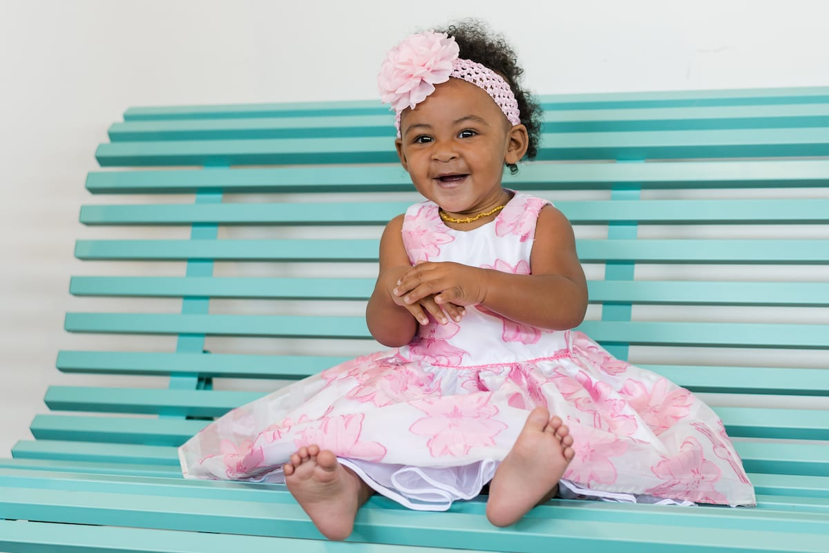 Baby Smiles I Family Photography I From the Hip Photo