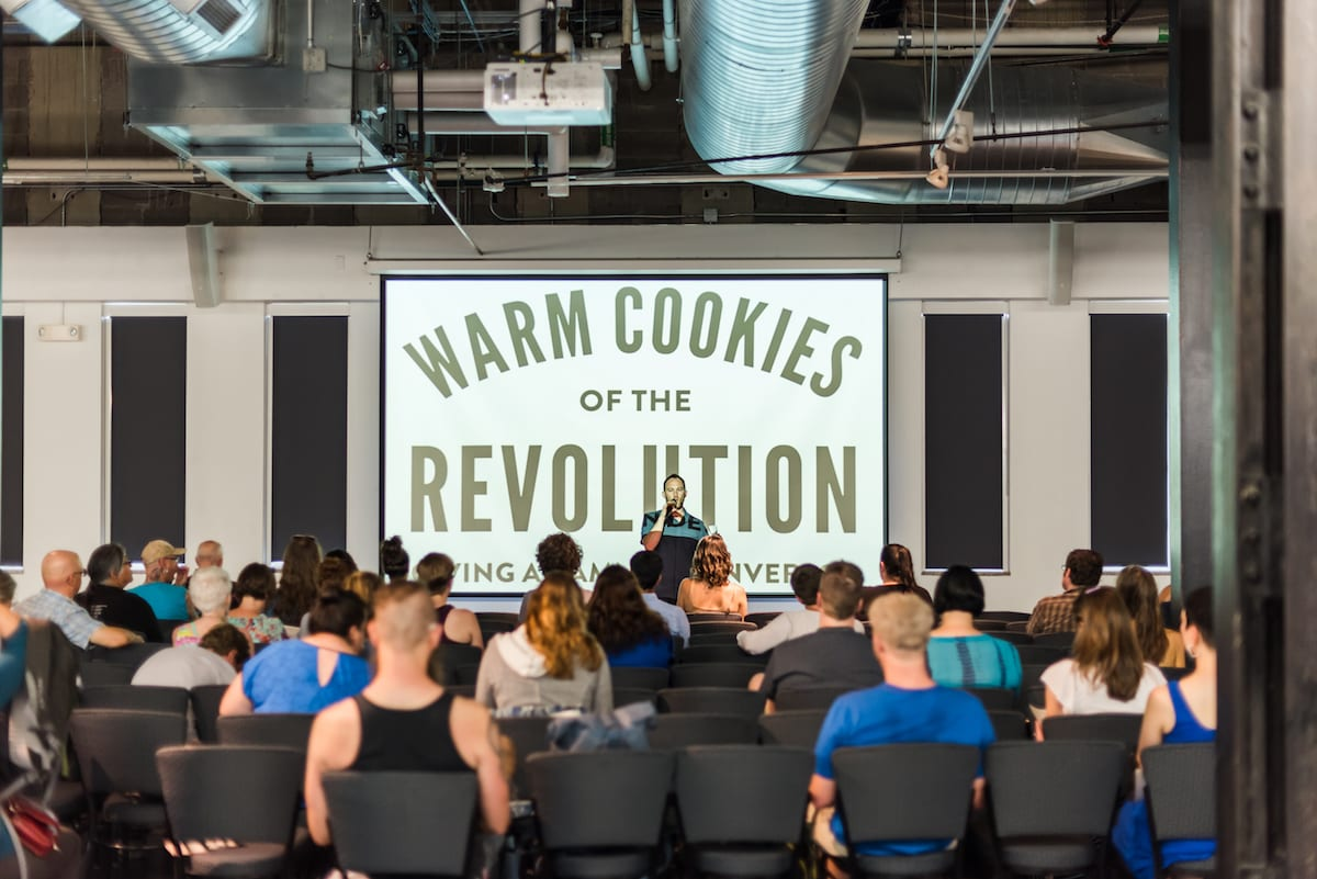 Presentation I Event Photography I Warm Cookies of the Revolution I From the Hip Photo