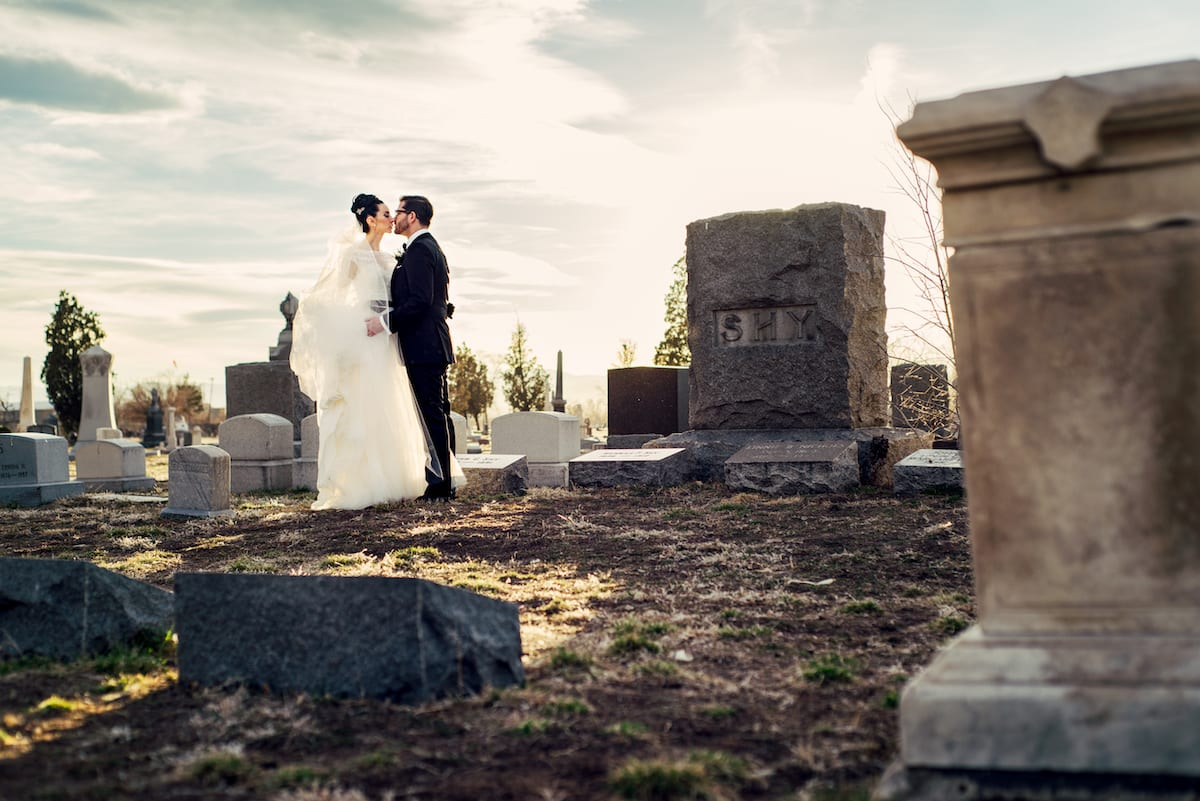 Gothic Themed Wedding At Oxford Hotel Christy Danny S Love