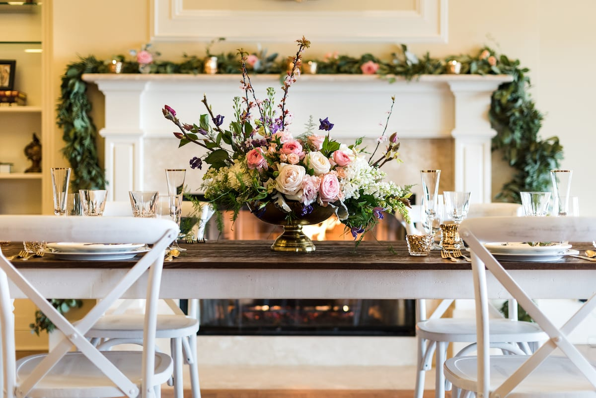 Styled Wedding Table | Wedding Photography | Flying Horse Ranch | From The Hip Photo