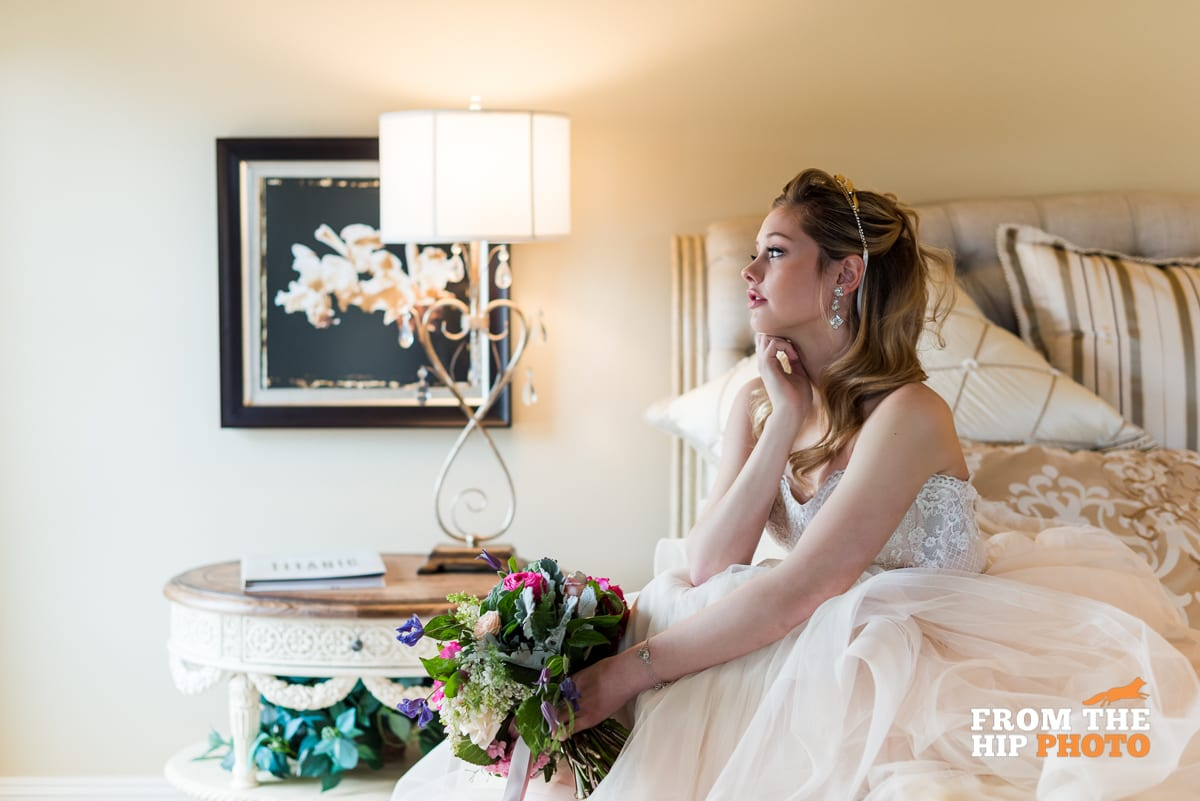 Posing Bride | Wedding Photography | Flying Horse Ranch | From The Hip Photo