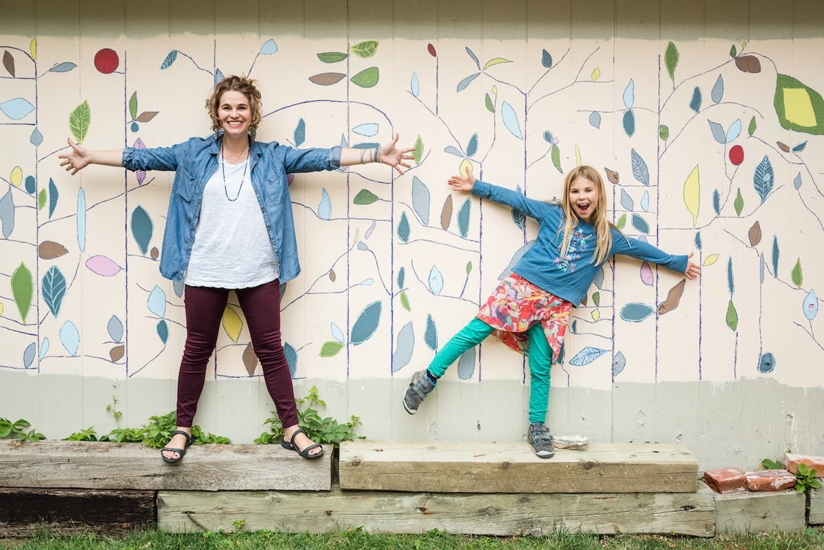 Mom and daughter strike a pose | Family Photography | From the Hip Photo