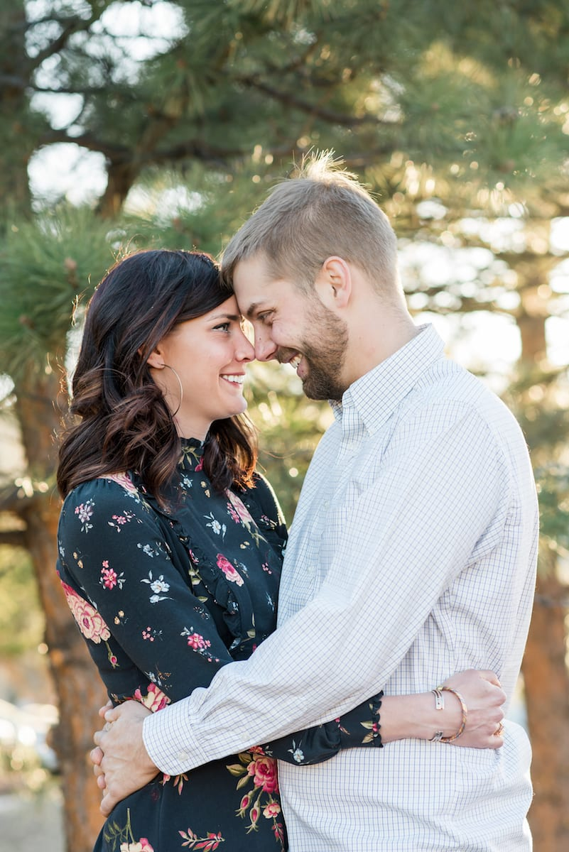 A Cozy Home Engagement | Engagement Photography | Evergreen | From the Hip Photo