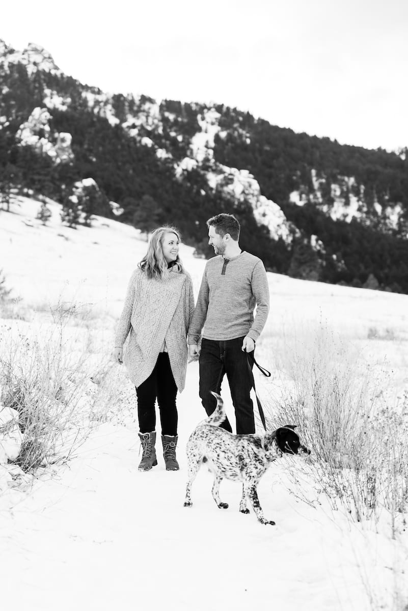 Chautauqua Park Engagement I Engagement Photography I Chautauqua Park I From the Hip Photo