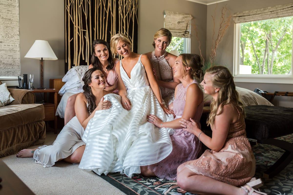 fairytale wedding   Wedding Photography   Denver Botanic Gardens   From the Hip Photo  