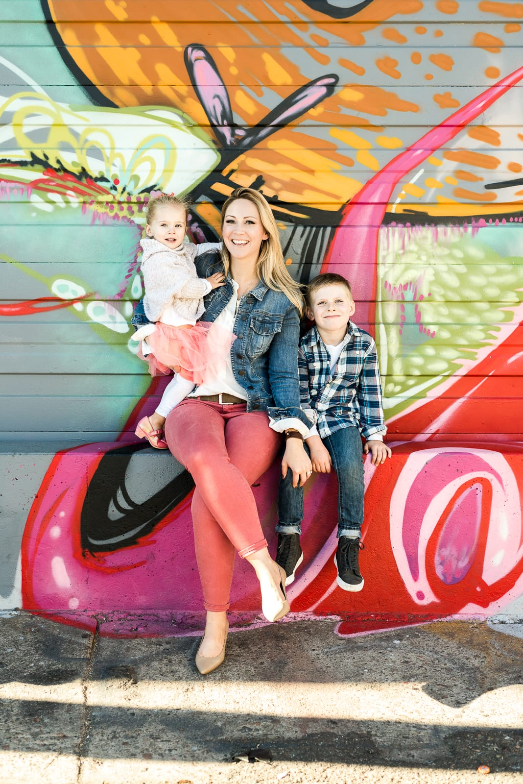 family photo | family photography | RiNo Arts District | From the Hip Photo