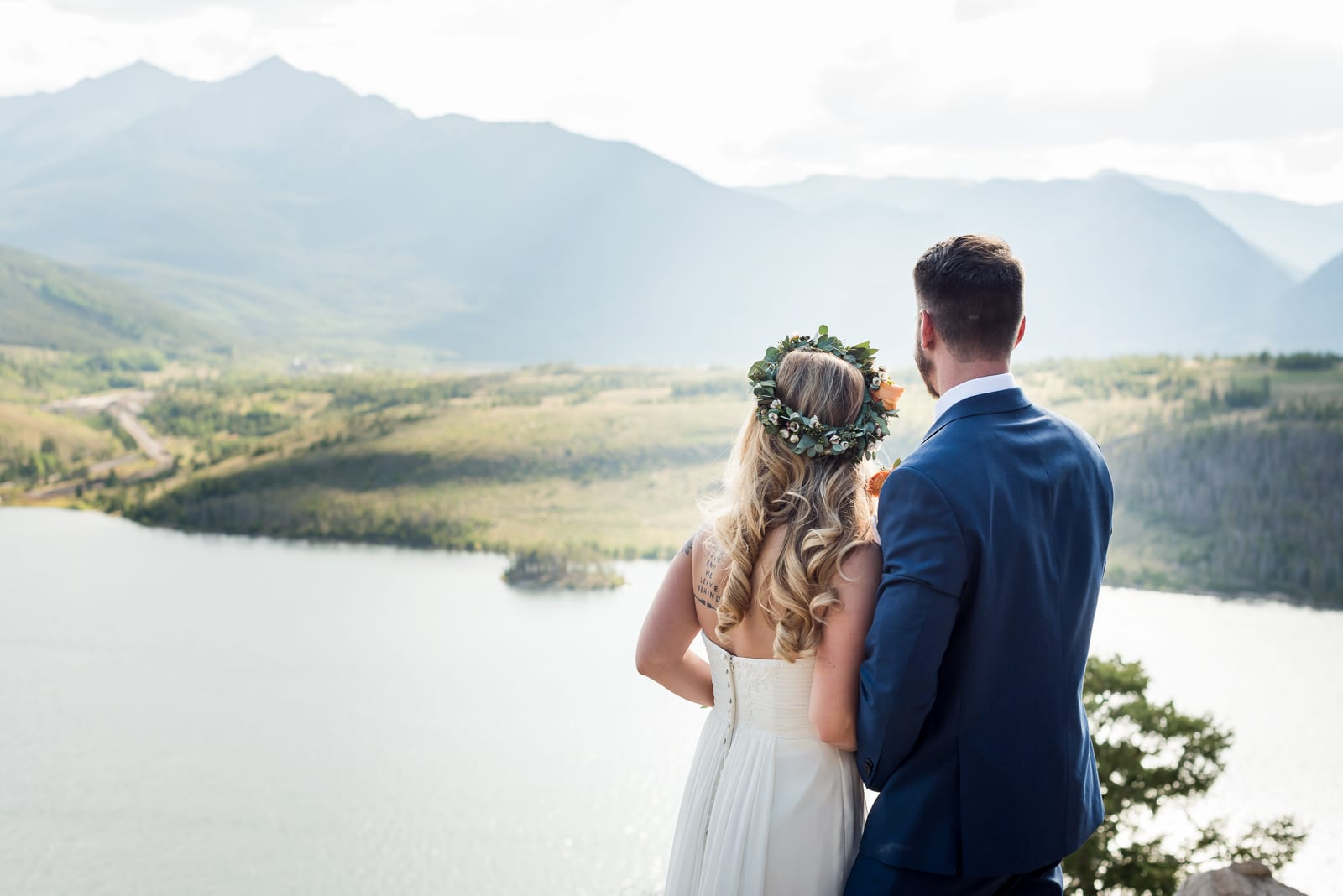 Second Wedding | Wedding Photography | Sapphire Point Overlook | From the Hip Photo