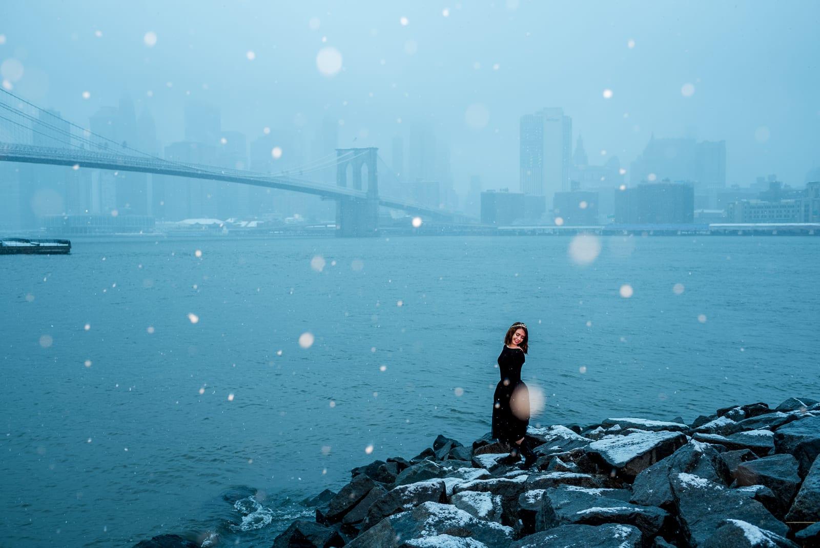 New York Photo | Portrait | Brooklyn Bridge | From the Hip Photo