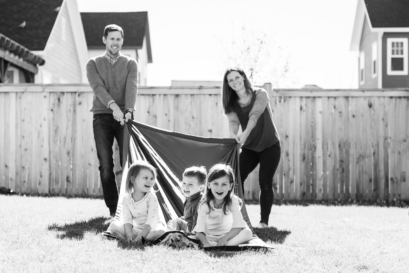 In Home Photo | Family Portrait | Denver | From the Hip Photo