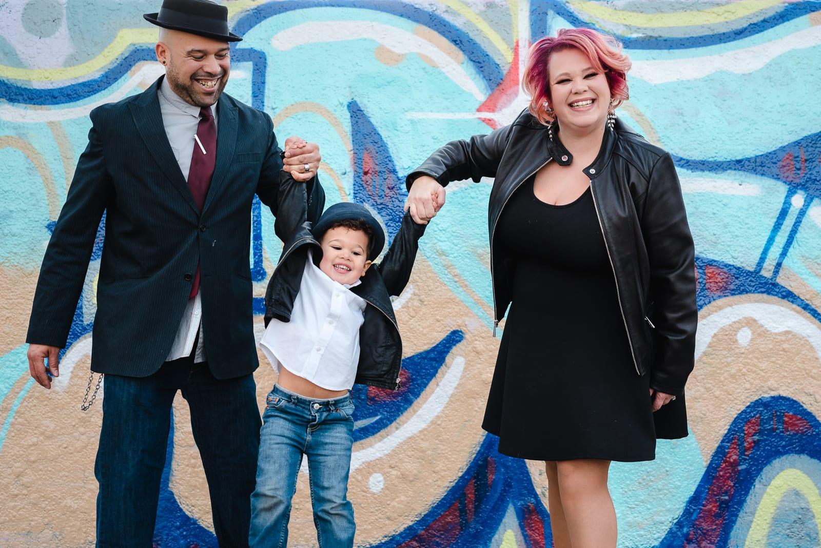 Fun Family Photo | Family Photos | Scott Carpenter Park | From the Hip Photo
