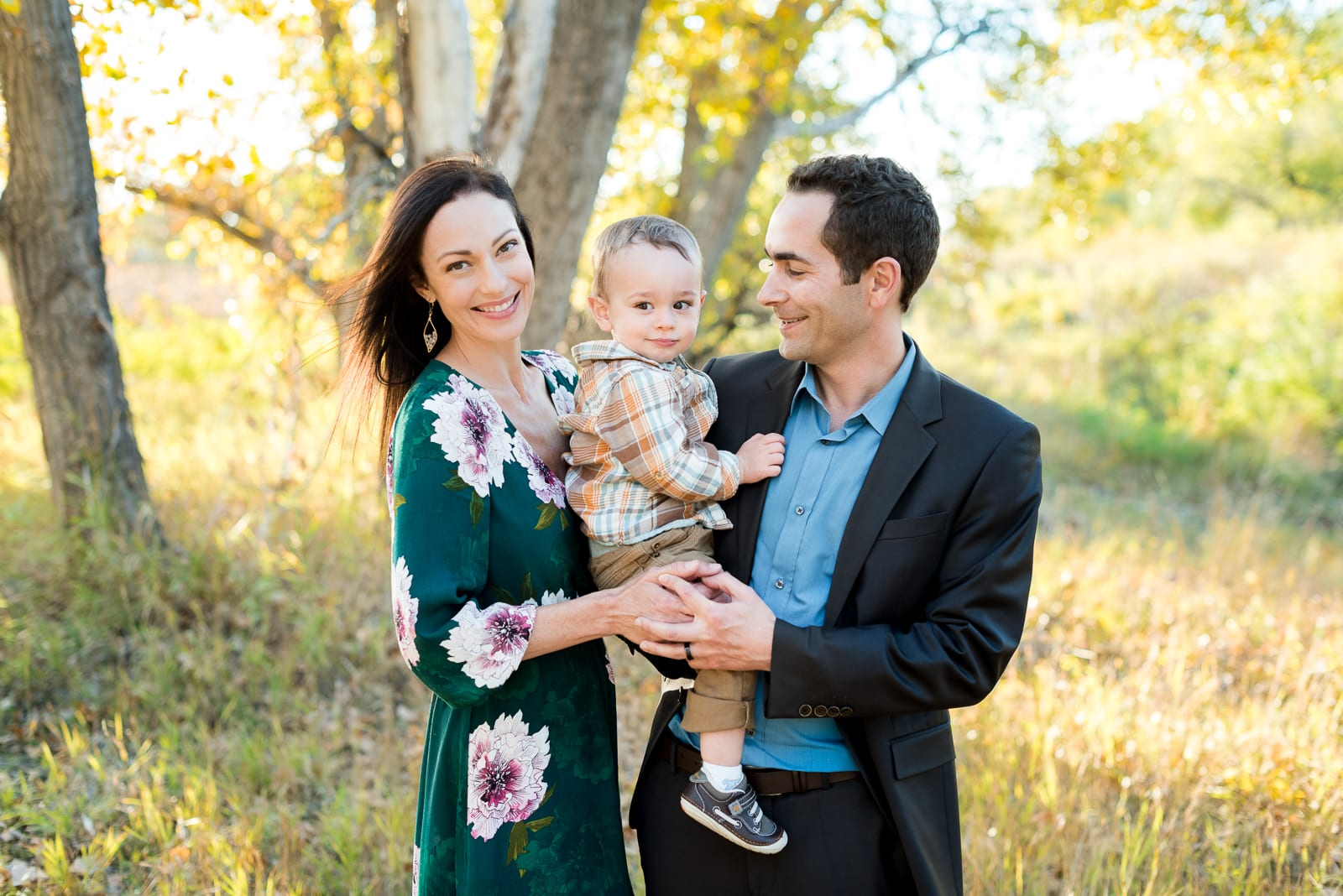 Golden Hour | Family Photography | Bluff Lake | From the Hip Photo