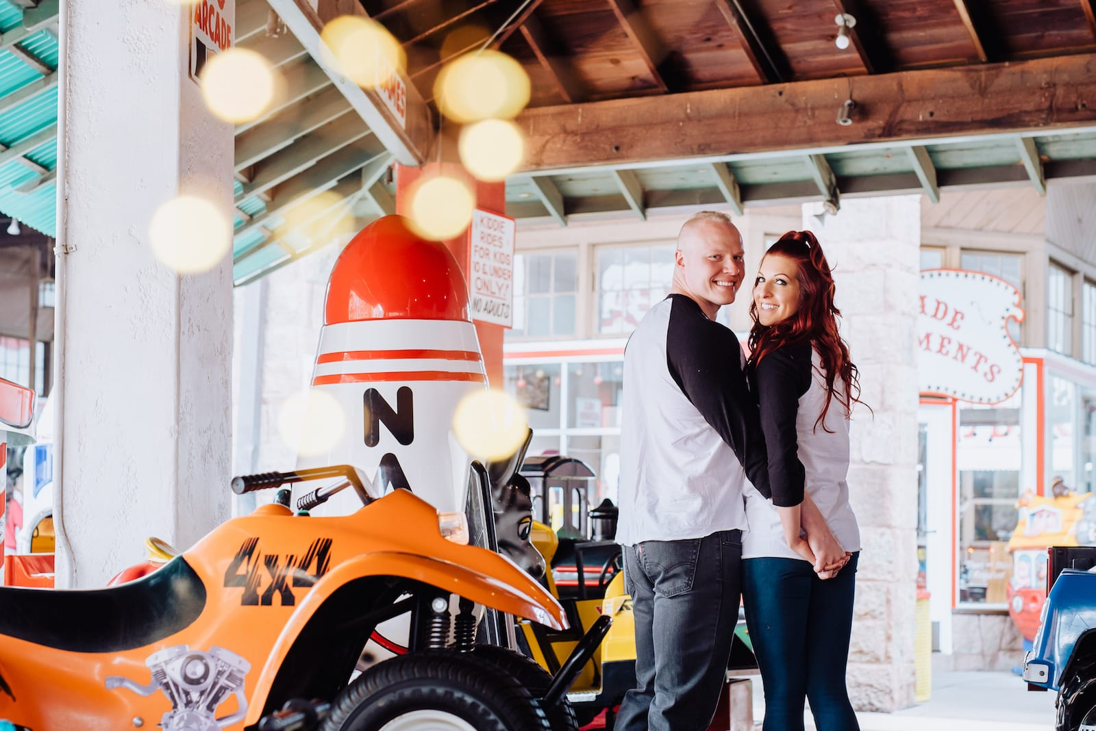 Penny Arcade | Engagement Photo | Manitou Springs | From the Hip Photo