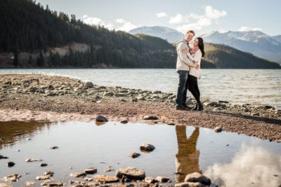 A Blissful Dillon Engagement | Engagement Photos | Dillon Lake | From the Hip Photo