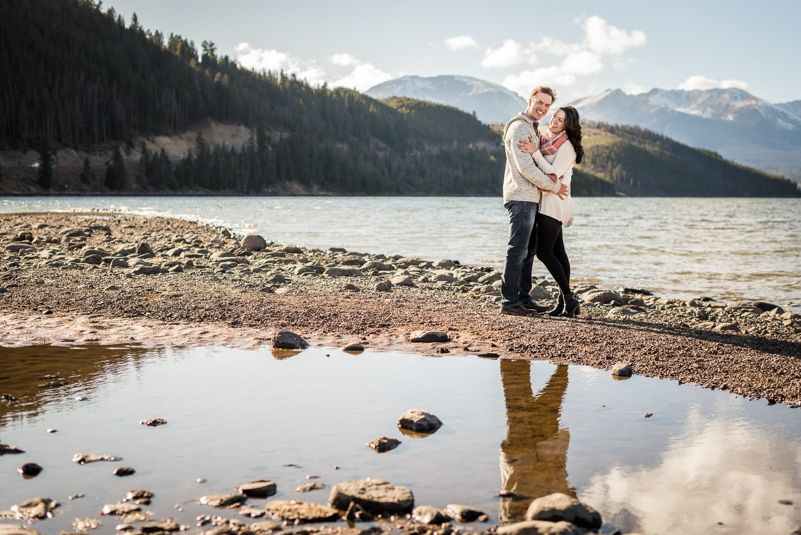 A Blissful Dillon Engagement   Engagement Photos   Dillon Lake   From the Hip Photo