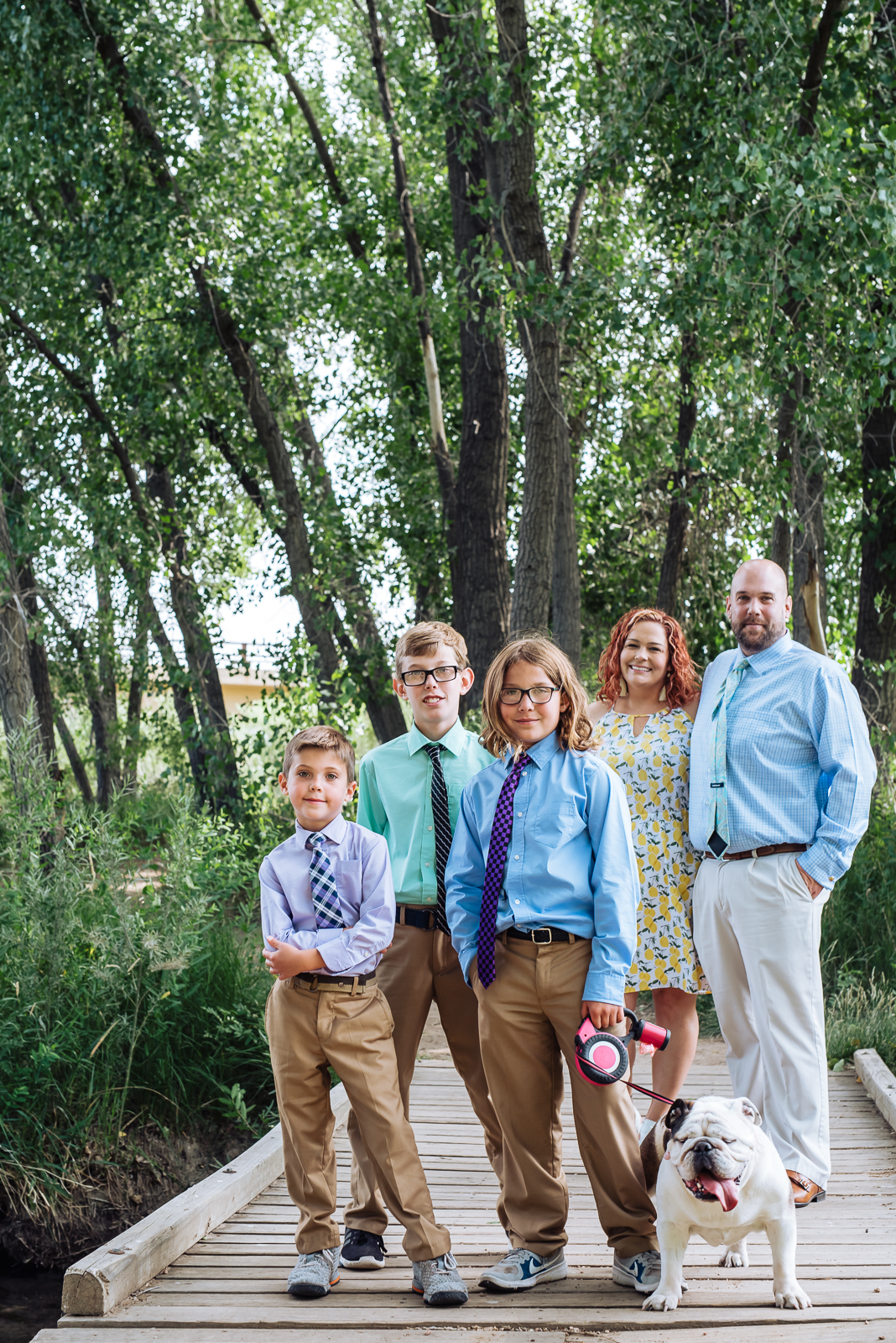 The Winters Family   Family Photo   South Platte Park   From the Hip Photo
