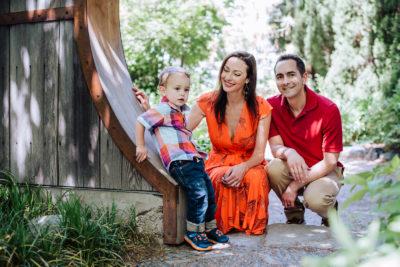 The Spraco Family | Family Photo | Botanic Gardens | From the Hip Photo